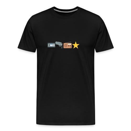 Video Killed The Radiostar - Männer Premium T-Shirt