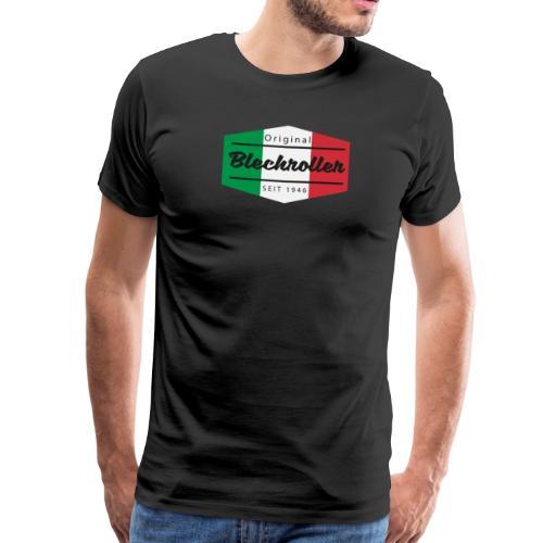 Logo Italia Blechroller - Männer Premium T-Shirt