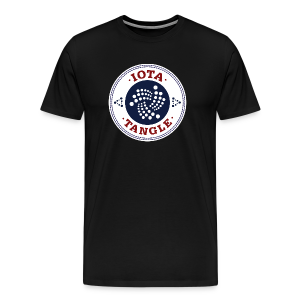 IOTA TANGLE - Men's Premium T-Shirt