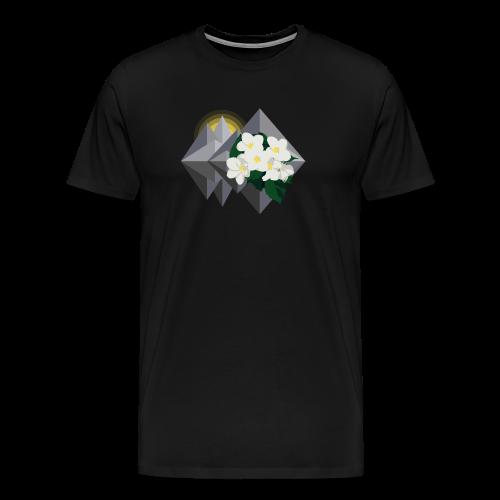 Deserved - EP logo - Premium-T-shirt herr