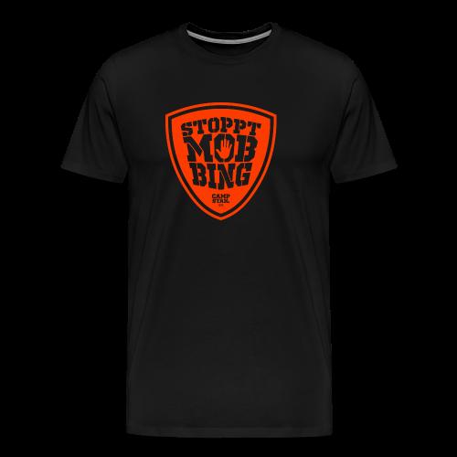 Stoppt Mobbing - Männer Premium T-Shirt