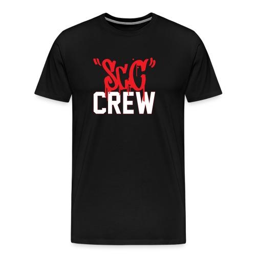 ScC CREW Logo Rood - Mannen Premium T-shirt