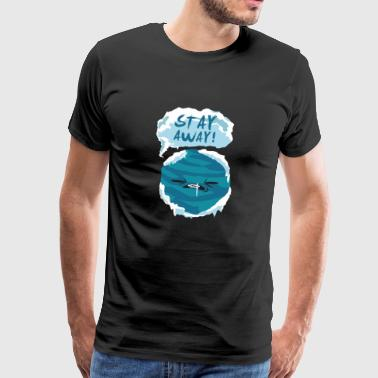 Ordspråk Gift Planet kall vinter barn universum - Premium-T-shirt herr