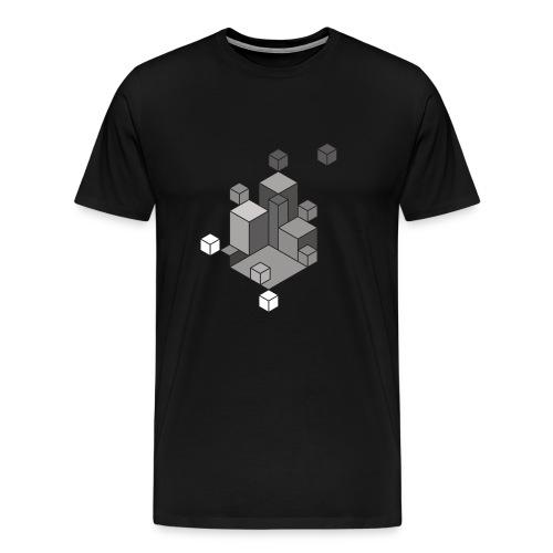 BlockCity - Männer Premium T-Shirt