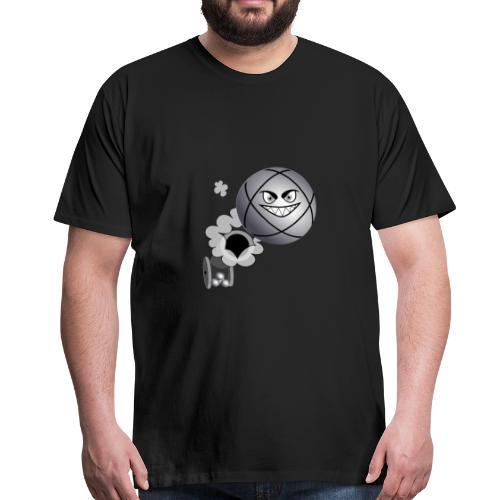 petanque tireur le carreau à la pétanque - T-shirt Premium Homme