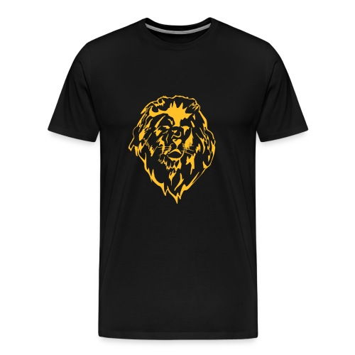moody lion - Men's Premium T-Shirt