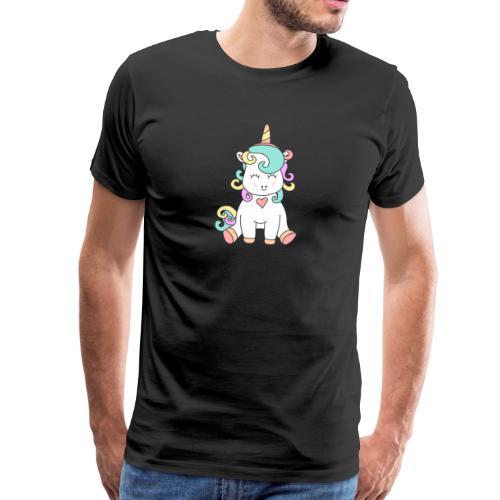 Das Einhorn-Baby. Süßer geht's nicht. - Männer Premium T-Shirt