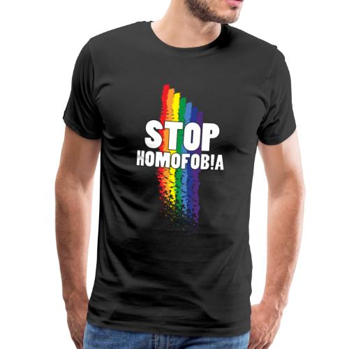 Stop Homofobia - Camiseta premium hombre
