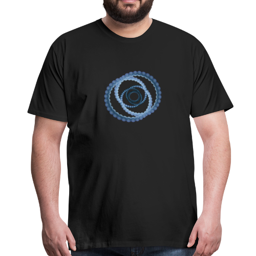 atom - cellular eight - Männer Premium T-Shirt