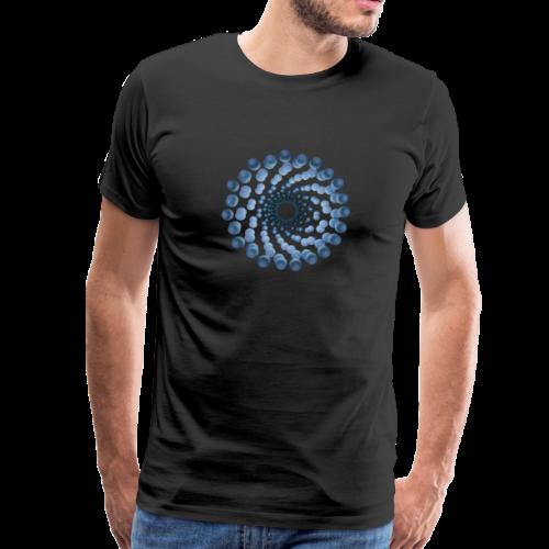 atom cellular nine - Männer Premium T-Shirt