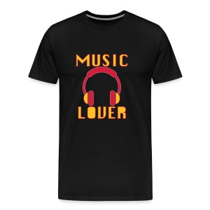 music_lover - Mannen Premium T-shirt
