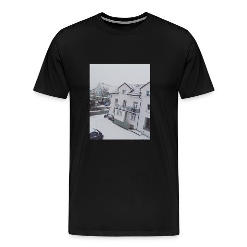 Schnee - Männer Premium T-Shirt