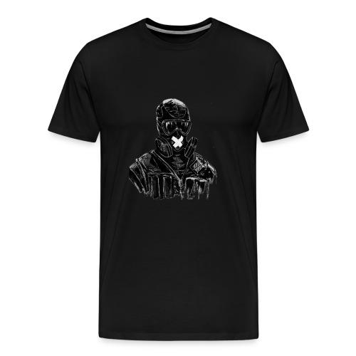 R6 Fan art Smoke - T-shirt Premium Homme