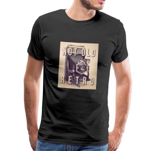 Not old. Retro! - Mannen Premium T-shirt