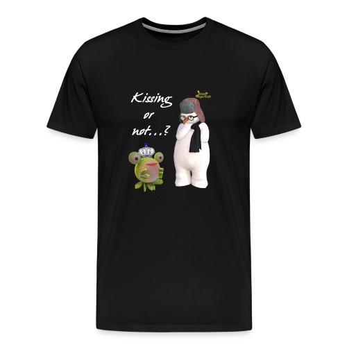 Kissing or not - Männer Premium T-Shirt