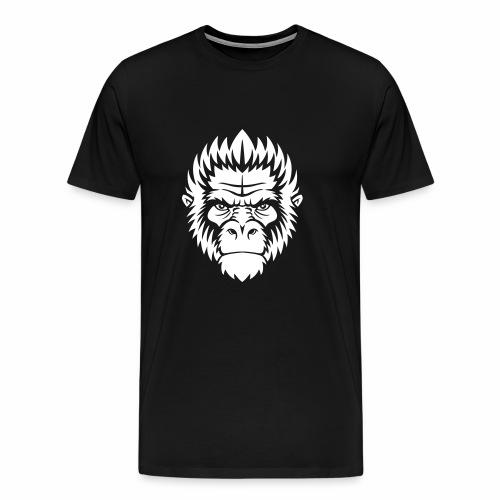 gorilla white - T-shirt Premium Homme