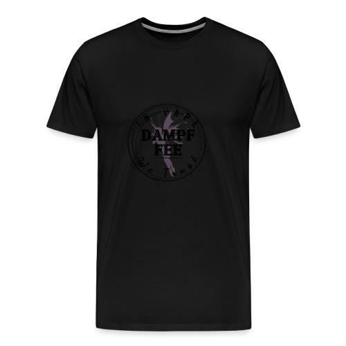 Dampf Fee Logo - In Vape We Trust - Männer Premium T-Shirt