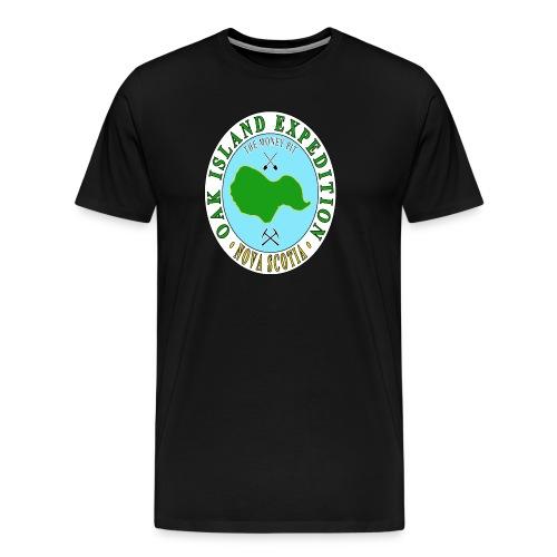 Oak Island Money Pit Expedition - Men's Premium T-Shirt