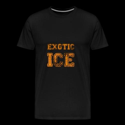 EXOTIC ICE - Herre premium T-shirt