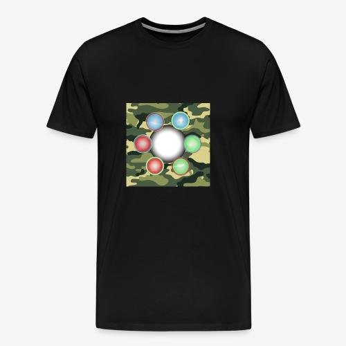 Singularité Box Logo Camo Vert - T-shirt Premium Homme