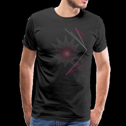 pink explosion-Explosion in pink, Stern Feuerwerk - Männer Premium T-Shirt