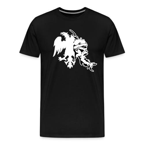 Albanischer Adler mit Skanderberg Kopf - Männer Premium T-Shirt