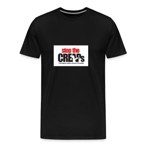 Stop the creaps - Premium-T-shirt herr