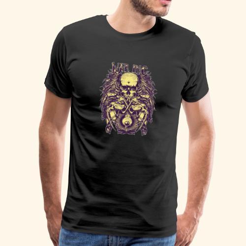 Totenkopf - war inc - Männer Premium T-Shirt