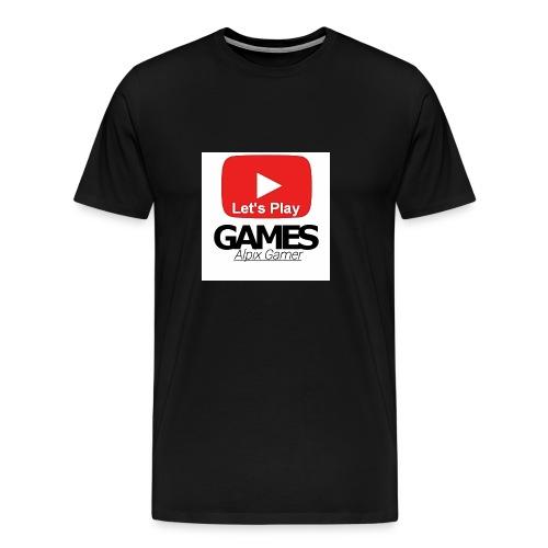 Das ist mein YouTube logo - Männer Premium T-Shirt