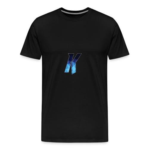 YoutubeKingsNL Logo T Shirt - Mannen Premium T-shirt