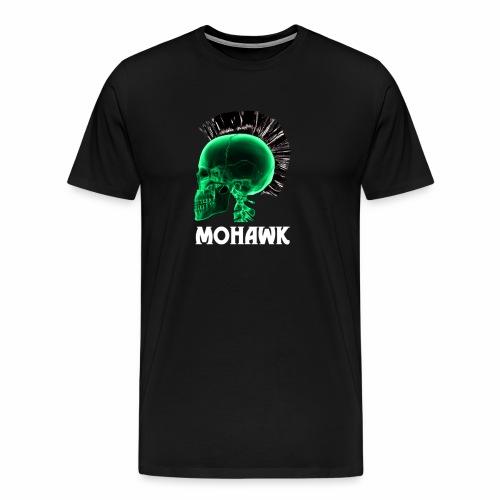Skull green - Mannen Premium T-shirt