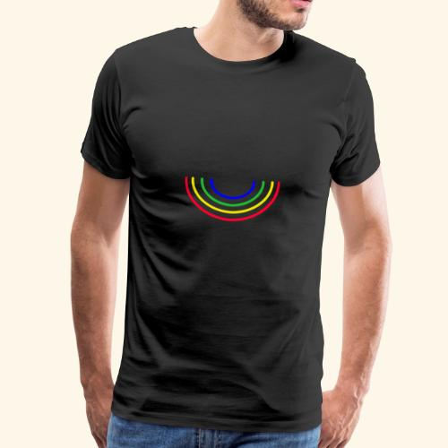 Rainbowl - Männer Premium T-Shirt