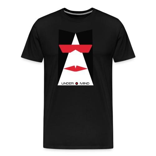 under mind adesivi 10x15 bozza - Maglietta Premium da uomo