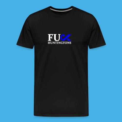 fu huntingtons white - Men's Premium T-Shirt