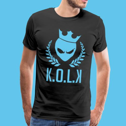 King of Laser - Männer Premium T-Shirt