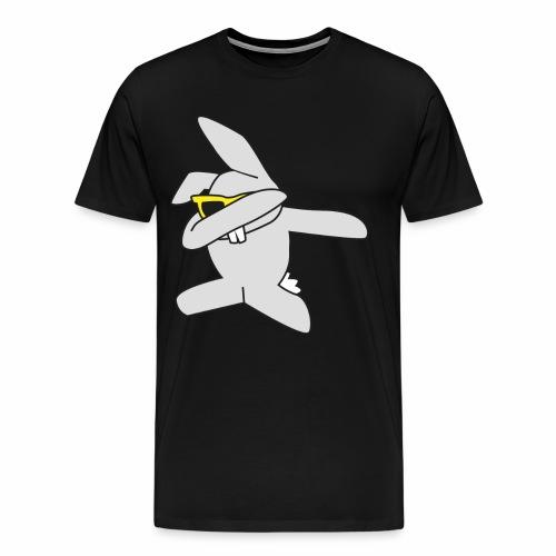 Dabbing Osterhase - Männer Premium T-Shirt