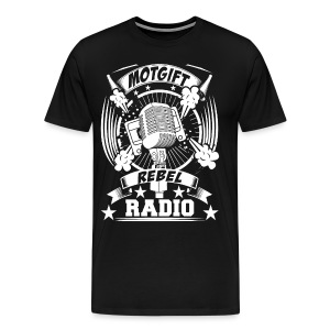 Motgift Rebel Radio - Premium-T-shirt herr