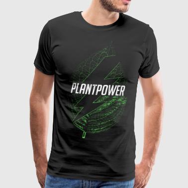 plant power - Men's Premium T-Shirt