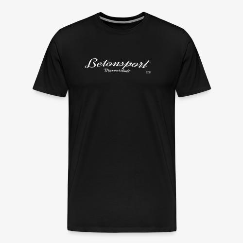 Betonsport Maxvorstadt weiss - Männer Premium T-Shirt