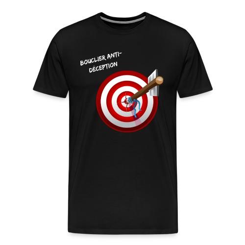 Bouclier anti-déception - T-shirt Premium Homme