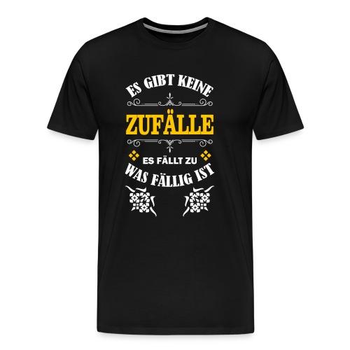 Es gibt keine Zufälle - Männer Premium T-Shirt