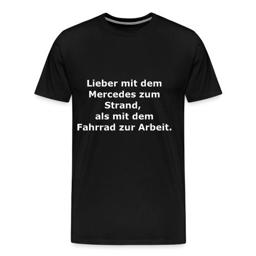 Fun-Shirt Mercedes - Männer Premium T-Shirt