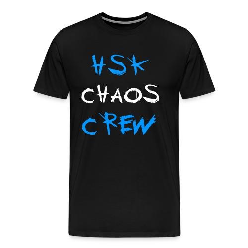 HSK CHAOS CREW - Männer Premium T-Shirt