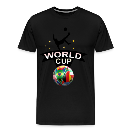 Fußball Design - Männer Premium T-Shirt