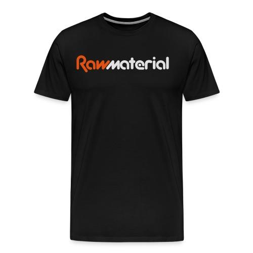 Raw Material 2017 Logo - Men's Premium T-Shirt