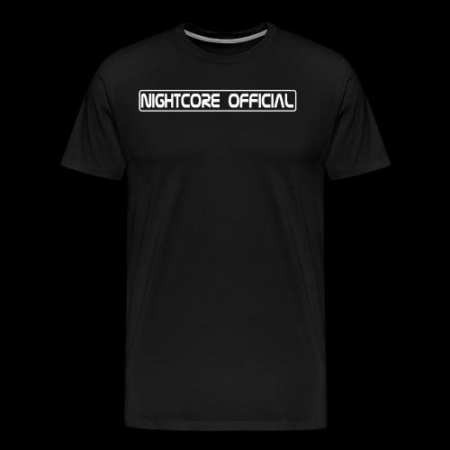 NightCore Official - Männer Premium T-Shirt