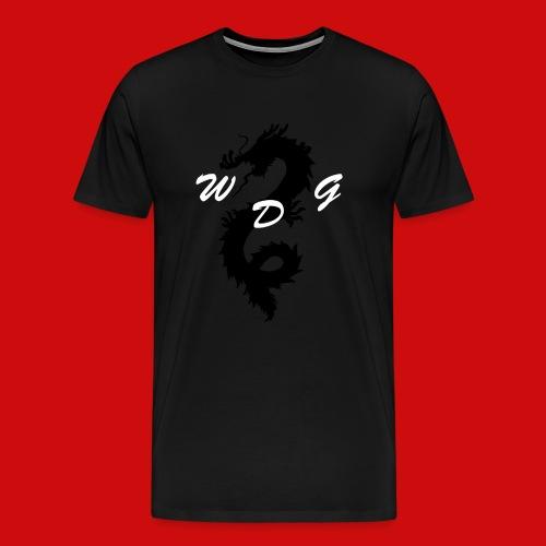 WoodDragonGaming Logo - Men's Premium T-Shirt