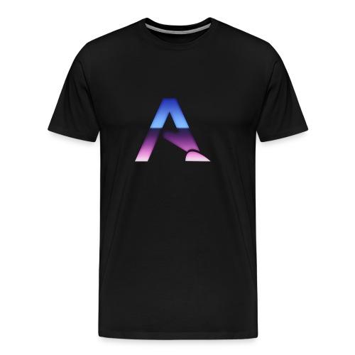 logga 3 - Premium-T-shirt herr