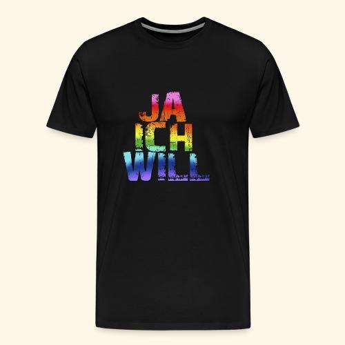 ja ich will! - Männer Premium T-Shirt