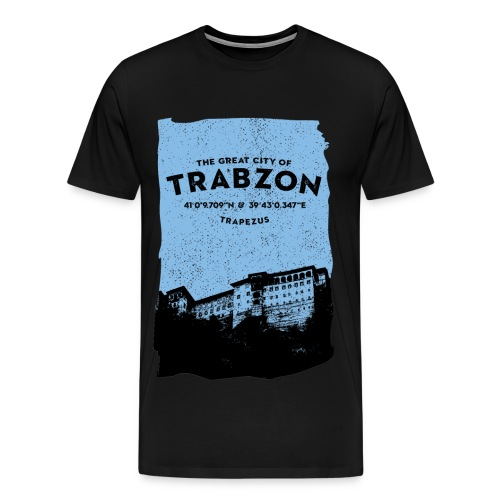 City of Trabzon - Männer Premium T-Shirt